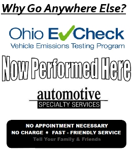 Ohio E-Check now performed at this service station