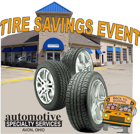Tire Specials Avon Ohio
